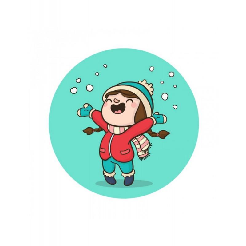 Κούπα Κοριτσάκι Στο Χιόνι