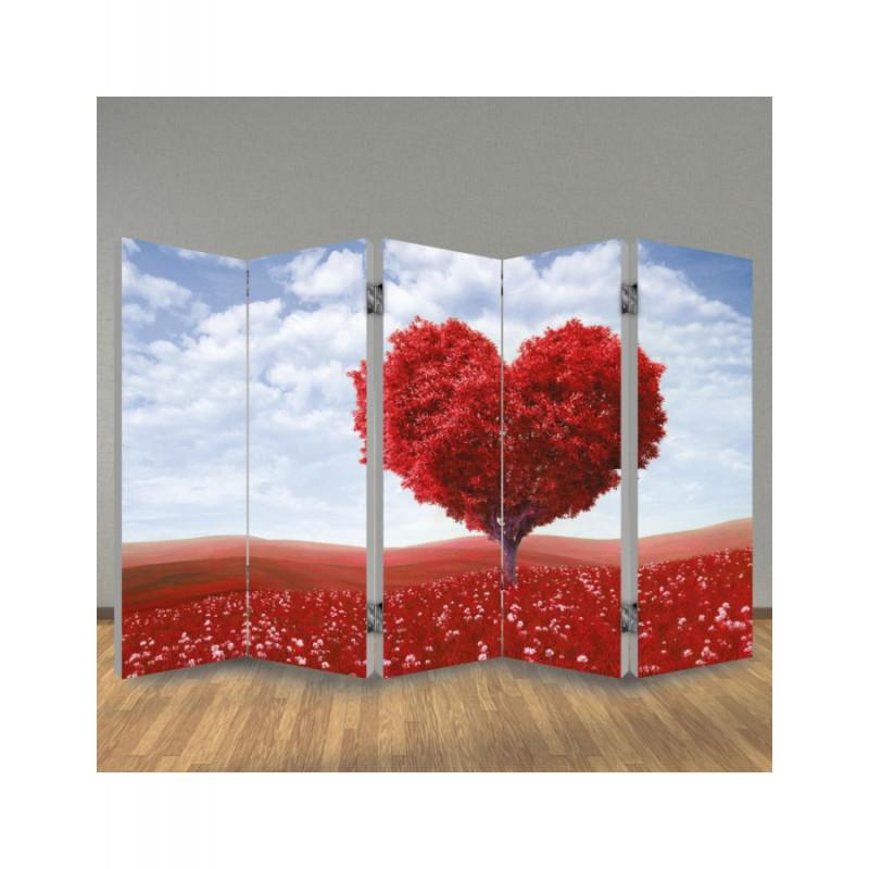 Παραβάν Δέντρο Καρδιά