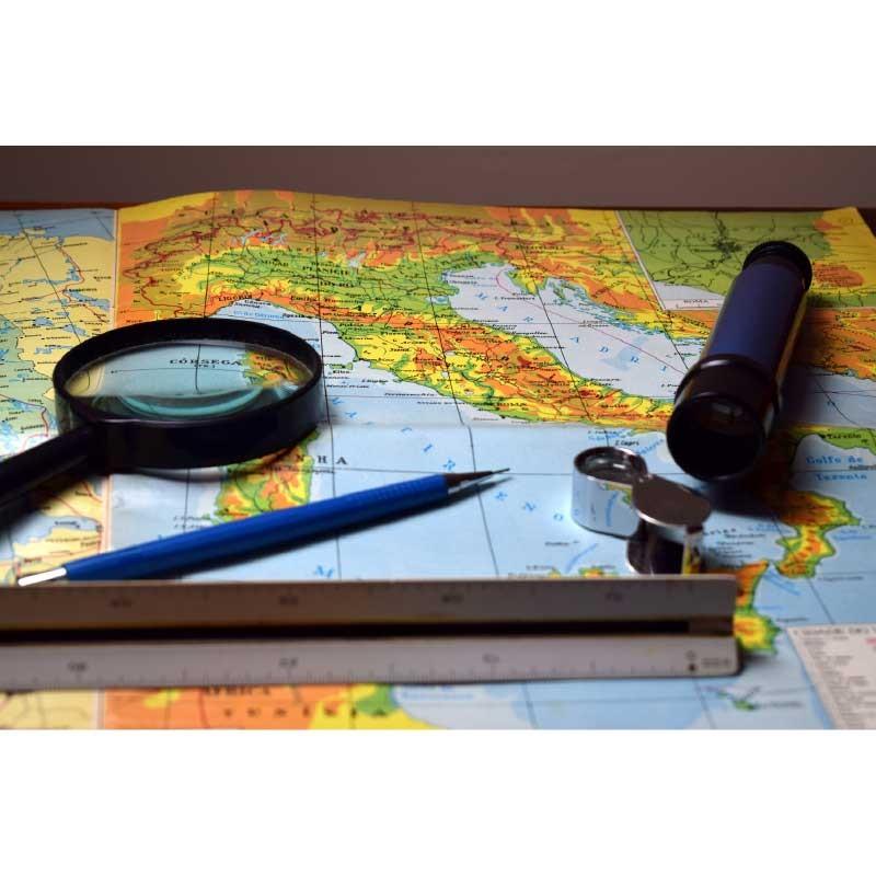 Πίνακας σε καμβά  Χάρτης