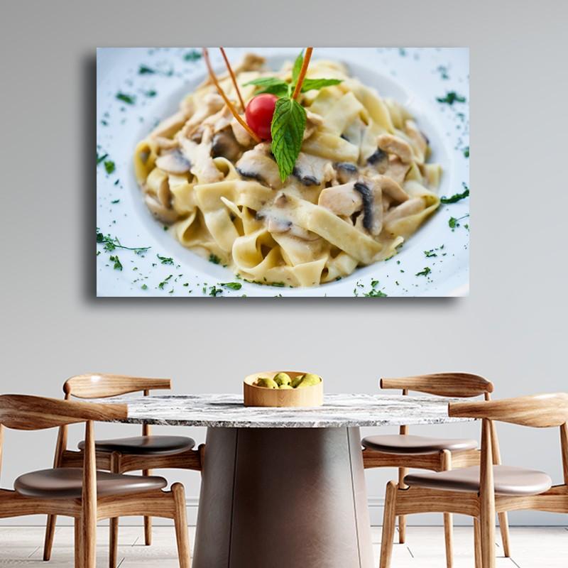 Πίνακας σε καμβά Ιταλιακα ζυμαρικά