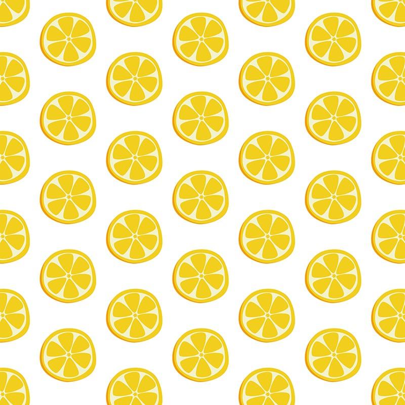 Πίνακας σε καμβά  Μοτιβο με λεμονια