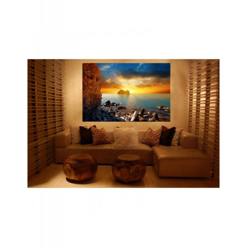 Πίνακας σε καμβά με Τοπία Μαγευτικό ηλιοβασίλεμα