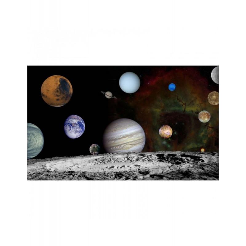Ταπετσαρία Η γη με τους πλανήτες